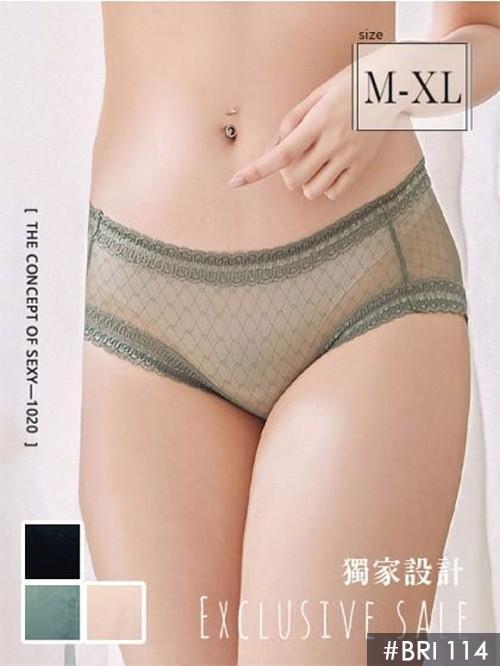 格紋提托推推內褲單件 3色