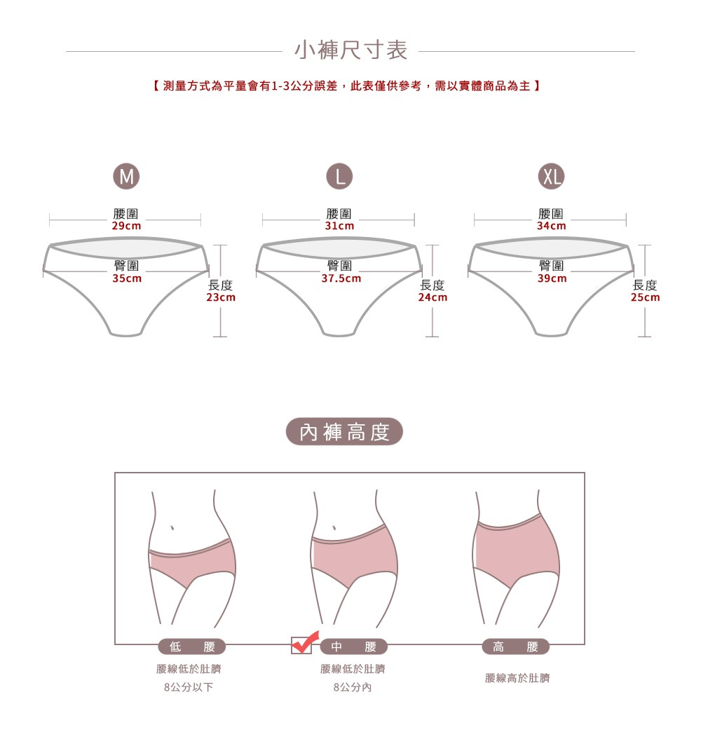 裸醺可可超強包覆內褲單件 1色